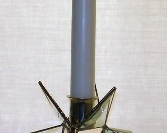 Moravian Star Bevel Candle Holder
