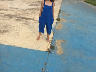 Custom order Made to Fit Lavai Maria Oversized Overalls Romper- Linen, Raw Silk