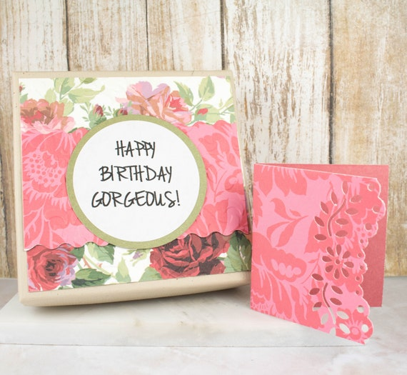 Birthday Gift Wrapping Gift Card And Gift Box Jewelry Gift Etsy