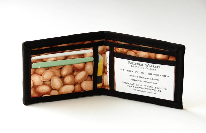 The Incredible (non) Edible Egg - Billfold Wallet