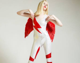 Ziggy Stardust Tribute Portal Suit for the Modern Superhero