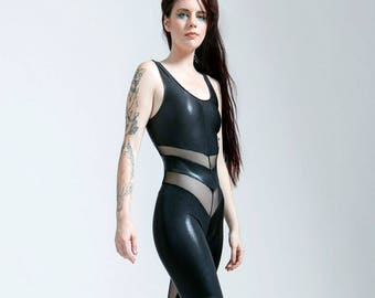 Stingray Leatherette Black Portal Suit for the Witchy Star Being in You