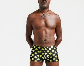 Gold Dot Mankinis For Poolside Lounging or General Hotness