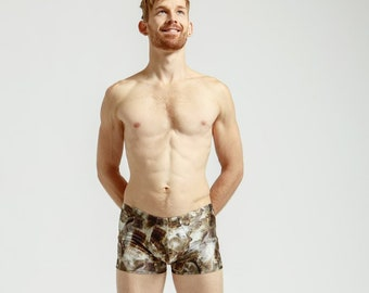 Mankinis in Squirrel Print For Poolside Lounging or General Hotness