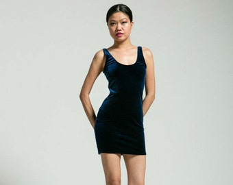 SALE Midnight Blue Bodycon Dress - Free Shipping