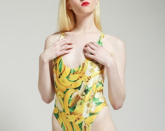 Louisiana Banana 80's One Piece Glam Bathing Suit - Free Shipping