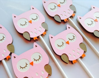 Owl Toppers (Set of 12)