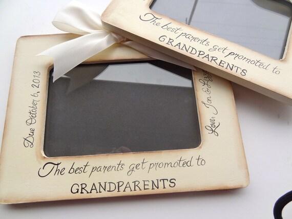 1 Ultrasound Grandparent Picture Frame Ultrasound Sonogram Etsy