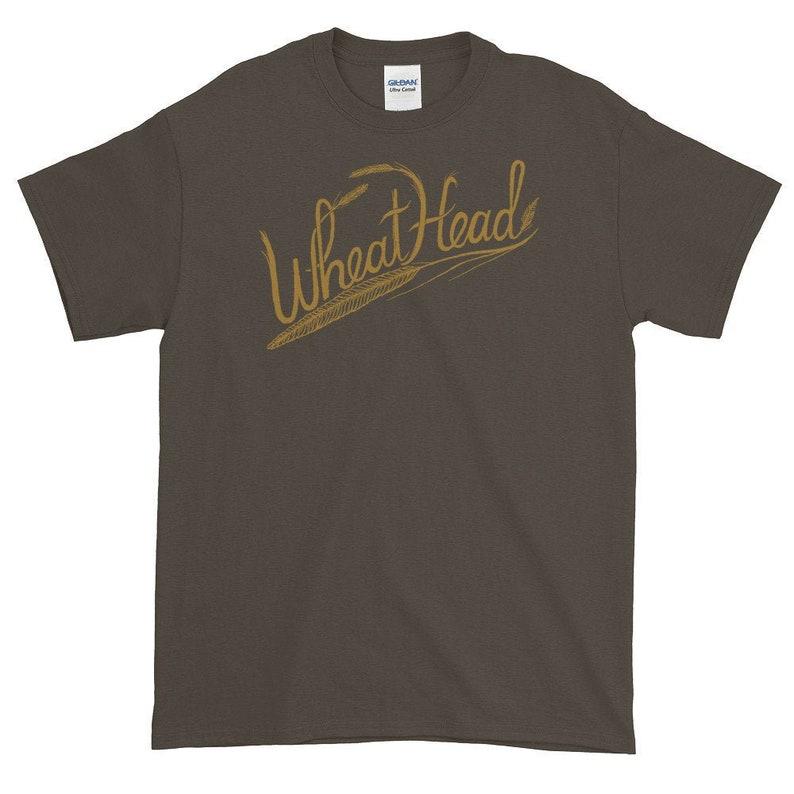 Wheathead Short-Sleeve T-Shirt  Heavier Weight Cotton Shirt image 0