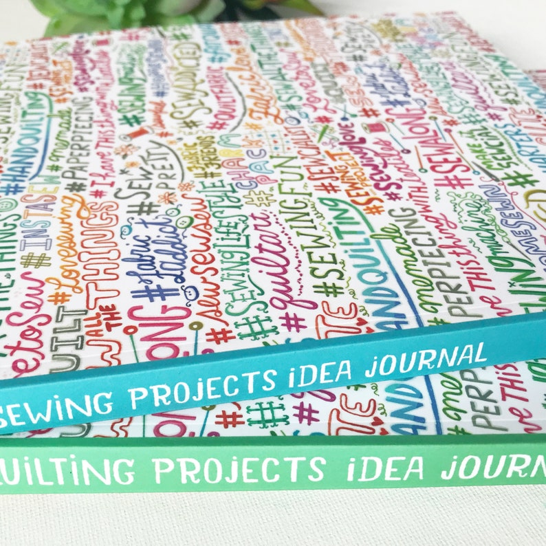 Quilting Projects Book Quilt Planner Sewing Notebook Sewing image 0