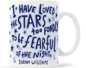 Astronomer Mug Space Mug Sarah Williams Nature Lover Mug Astrology Gift Astrology Mug Manifest Gift