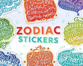 Scorpio sticker Zodiac astrology gifts Scorpio decal Star sign sticker Zodiac gifts Water sign Scorpio Laptop decal Vinyl sticker
