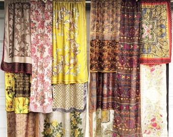 The Spice Road Bohemian Gypsy Curtains
