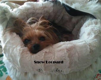 Dog Tote Bag - Dog Carrier Purse - Pet Carrier Purse - Dog Tote - Faux Fur - Luxury Faux Fur