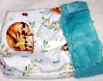 Tiny Pet Snuggle Sack - Sloth Print - Small Pets Cuddle Sack