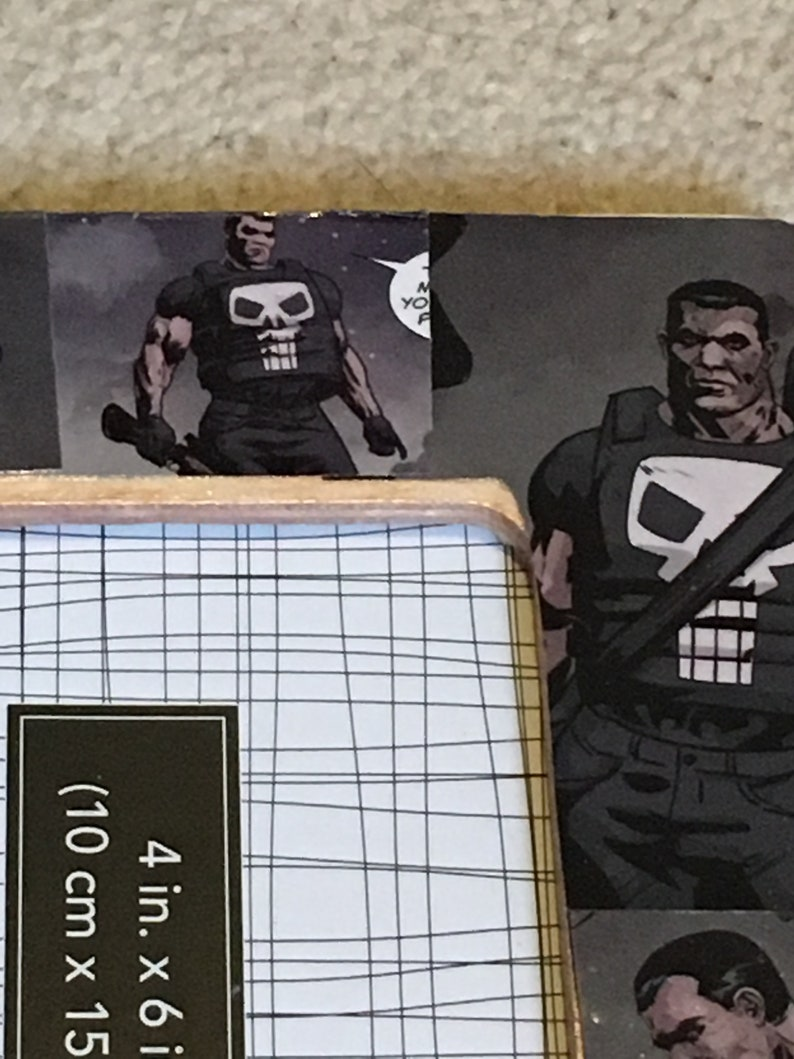 Themed 4 X 6 Picture Frame inspired Daredevil and Punisher