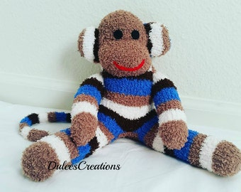 Bert the sock monkey made to order reserve yours today only 12 available at this time