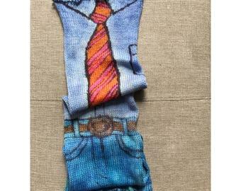 Handgefärbtes Garn, Indie Garn gefärbt, handgefärbten Garn macht GEBATIKTES--auf Bestellung - handbemalte Sock Blank Merino/Nylon Fingersatz Doppel gestrandet