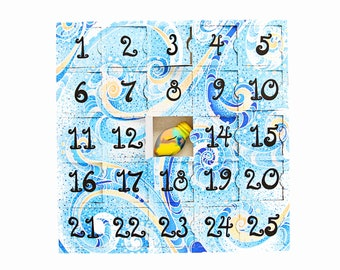 Advent Calendar for kids - Pre-Filled Crayon Advent Calendar for Kids - 25 Original Rainbow Crayons® in Advent Calendar Box - Ready to Gift