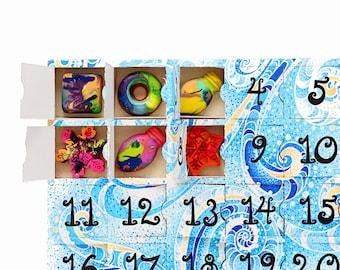 Kids Advent Calendar - Pre-Filled Crayon Advent Calendar for Kids - 25 Original Rainbow Crayons® in Advent Calendar Box - Ready for Gifting
