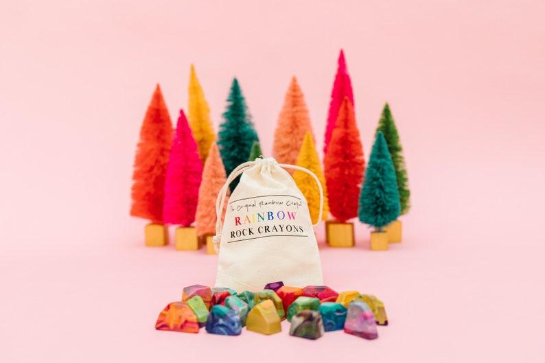 Kids Crayon Christmas Gift  Rainbow Rock Original Rainbow image 1