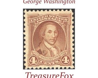 Unused Vintage Postage Stamps for mailing by TreasureFox on Etsy