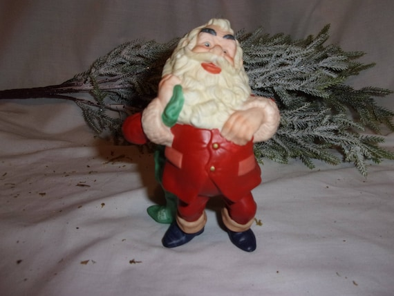 Jolly Santa Claus Ornament, Jolly Old St. Nick, St. Nicholas, Christmas Vintage, Christmas Ornament, Christmas Tree Ornament, Gift, Decor