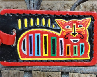 Key Fob with Mola Cat