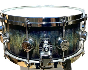 """Snare Drum, Quarter Sawn Red Oak, Stave Snare, 6.5"""" x 14"""""""