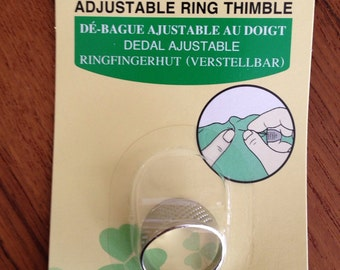 Clover Japanese Knuckle Ring Thimble Model #610