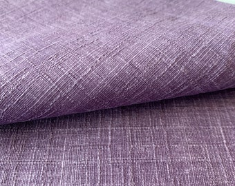 Solid color dobby weave Sevenberry Japanese cotton fabric 88632-1-9 lavender purple