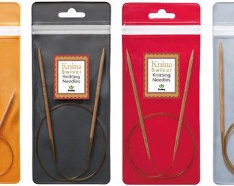 Tulip Knina Swivel Bamboo Knitting Needles