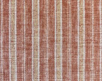 Morikiku Stripe pink Japanese cotton dobby fabric M-23200-C25