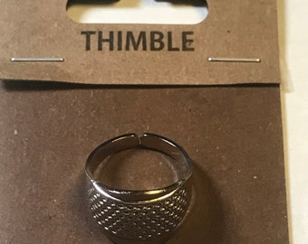 Tulip Japanese Knuckle Ring Thimble Model SN-008e