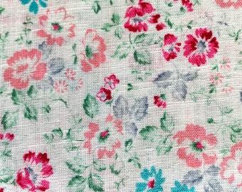 Floral Garden Japanese cotton voile fabric AP42309-3A half yard