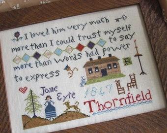 A Jane Eyre Sampling / Cross Stitch