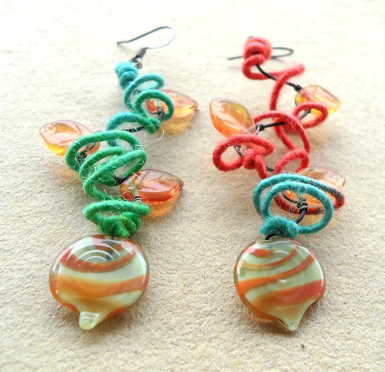 festival earrings festival fashion statement earrings boho image 0