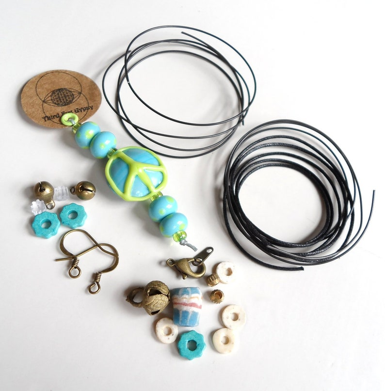 jewelry kit jewelry making kit jewelry making beads image 0
