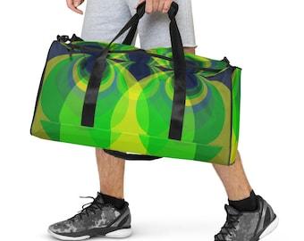 Green Harmonics Duffle bag