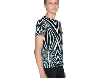 Riled Up Unisex Youth crew neck t-shirt