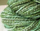 Pond - handspun organic cotton bamboo vegan yarn - RESERVED