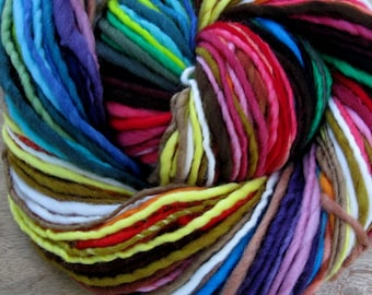 Yarnbow - handspun self-striping/color-changing wool yarn