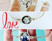 Personalized Bracelet Photo Gifts, Mother Of Bride Gift, Mom Gift, Mothers Day Gift, Adoption Jewelry