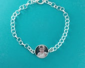 Sterling Silver Keepsake Photo Charm Bracelet, Mother In Law Gift, Mothers Day From Daughter, Mothers Day Photo, Mothers Day Gift mimi gifts