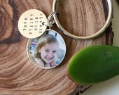 Sterling, Always Your Little Girl Key Ring Custom Father's Day, Personalized Gifts For Dad, New Dad Gift, Fathers Day Keychain, Gift For Him