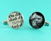 Photo Cuff Links  Baby Daughter, Christmas Gifts For Dad