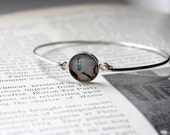 Sterling Silver Photo Jewelry,  Photo Jewellery, Custom Photo Jewelry, Bracelet, Photo Bangle, Birthday Gifts For Her, Gifts For Sister