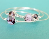 Sterling Silver Bangle Mother-In-Law Gift, Mom Gift, Mothers Day Gift, Mom-In-Law Gift, Nana Gift, Mimi Gift, Personalized Gift