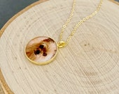 Personalized Gold Photo Jewelry Necklace, Gifts For Her, Christmas Gifts For Sister, Personalized Gold Pendant, Custom Made Necklace