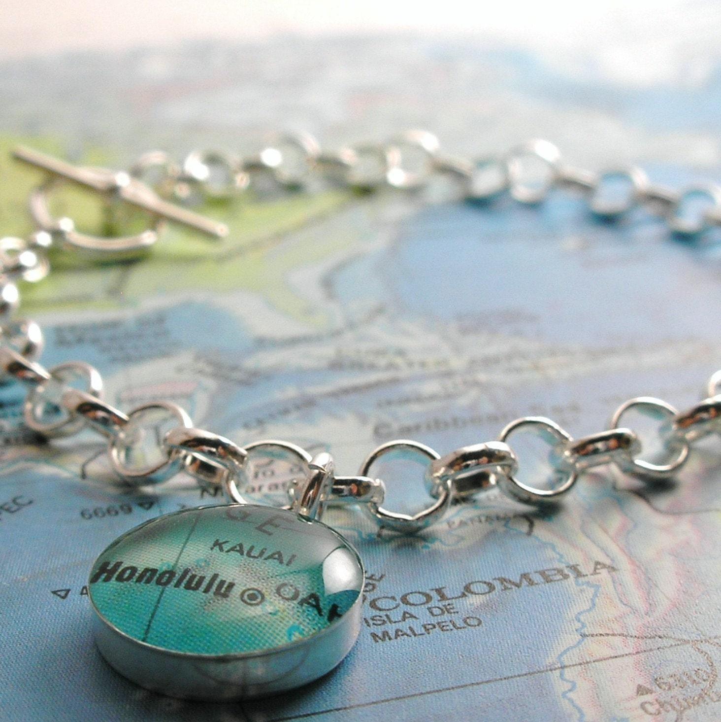 Toggle Charm Bracelet: Toggle Bracelet Sterling Silver Toggle Charm Bracelet Will